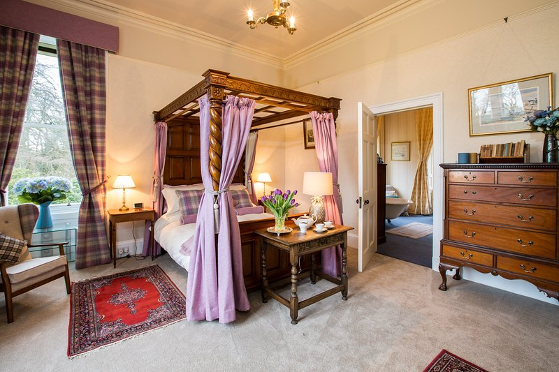 The West Wing, Kinloss Mansionhouse, nr St Andrews, casa vacanza a Luthrie