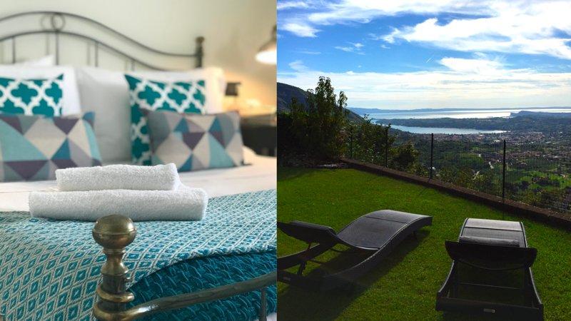 AMIRO VISTA Private Garden, Pool & Lake Garda View, holiday rental in Villanuova sul Clisi
