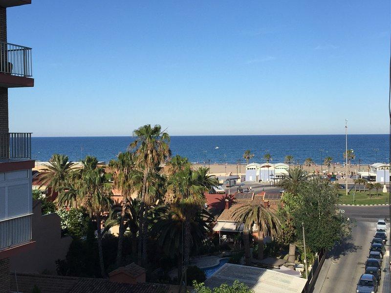 apartamento con vistas al mar, location de vacances à Masalfasar