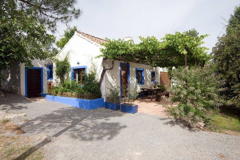 Cortijo Algabia, nice cottage with pool and barbecue in Granada., alquiler vacacional en Gójar