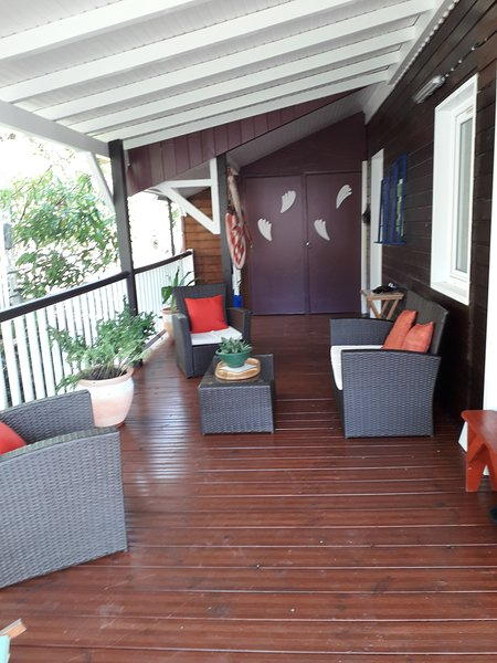 Amazing bungalow with sea view, vacation rental in Marigot