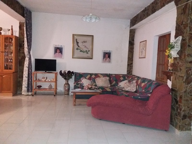 Amazing house with terrace, holiday rental in Villacidro