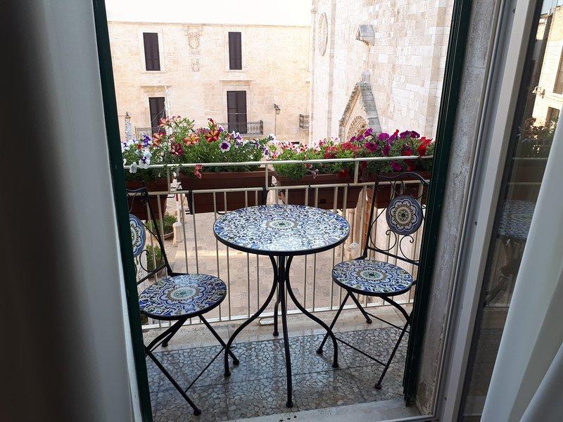 Mansarda romantica  'Il nido delle rondini', alquiler de vacaciones en Conversano