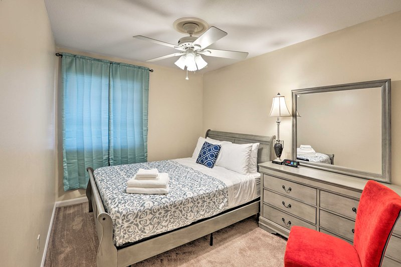 Enjoy a peaceful getaway to this 3-bedroom, 2-bath Tallahassee vacation rental!