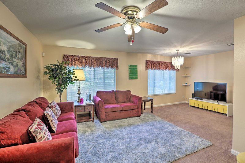 Up to 8 guests can enjoy this convenient location with all the comforts of home!