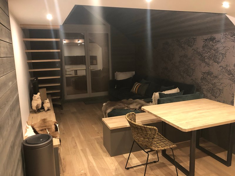 Amazing apt with mountain view, vacation rental in L'Alpe-d'Huez