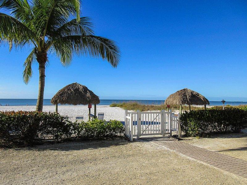 Estero Sands 103 - Estero Sands - Private Area On The Beach