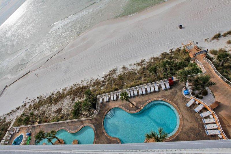 Beach & Gulf Views from The Balcony