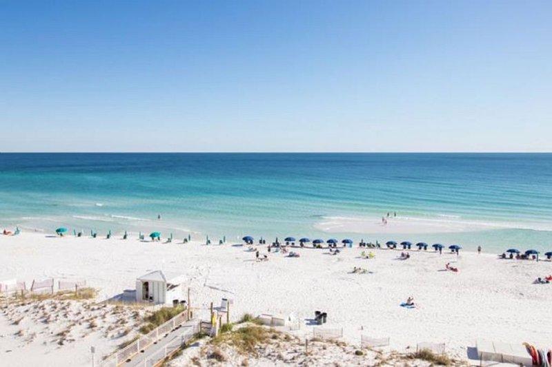 Beachfront of Pelican Beach Resort