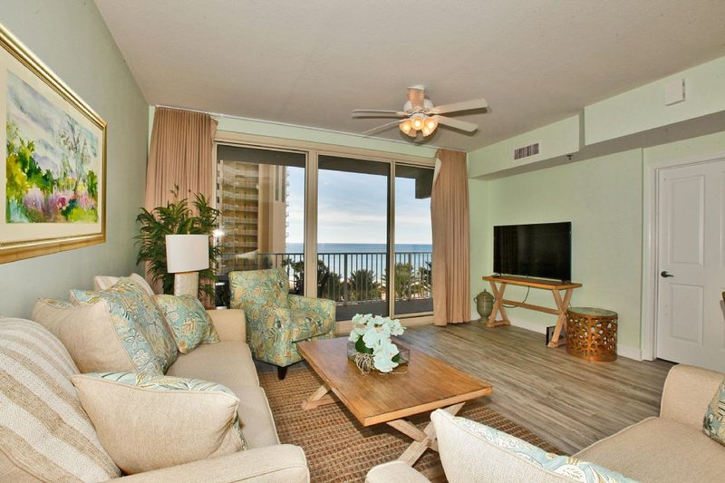 Shores of Panama Condo Rental 516 - Living Area