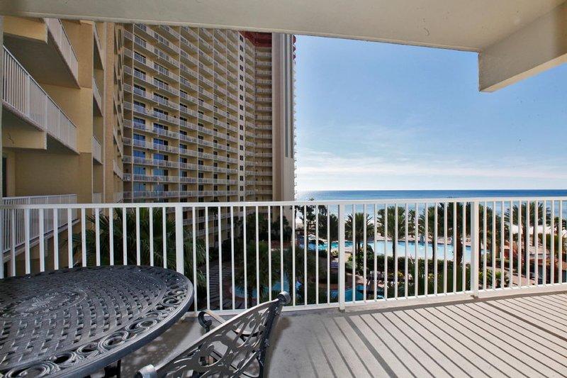 Balcony with Beach & Gulf View