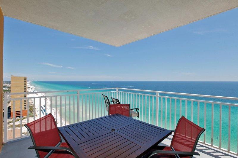 Gorgeous Balcony with Gulf Views