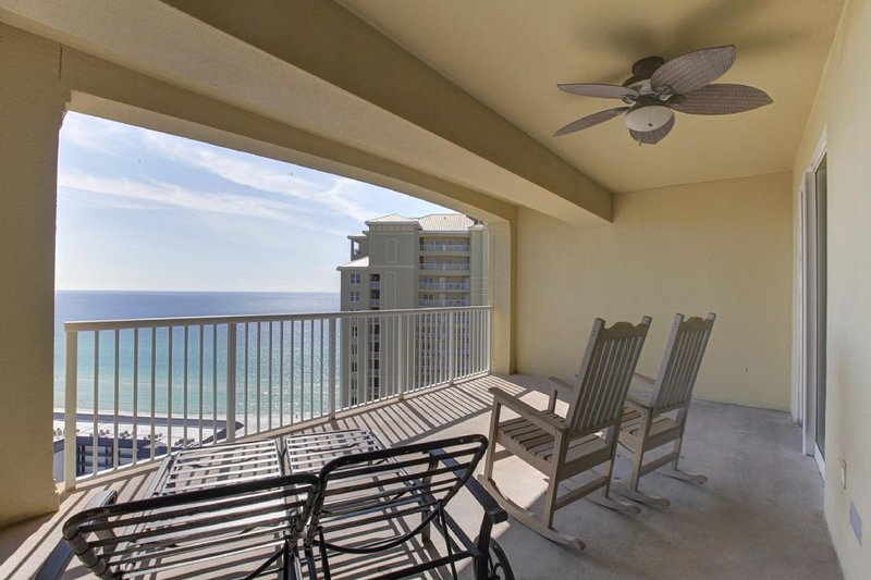 Large Balcony with Incredible Gulf Views
