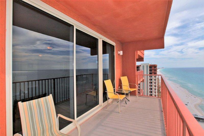 Shores of Panama Condo Rental 2302 - Balcony View