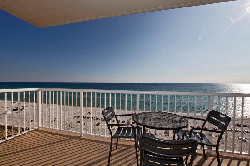 Splendida vista dal balcone privato