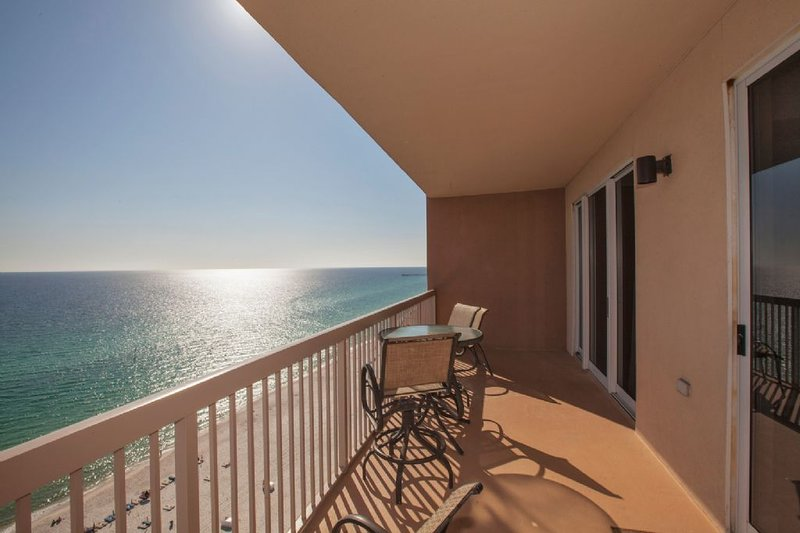 Large Balcony with Sweeping Views of The Gulf
