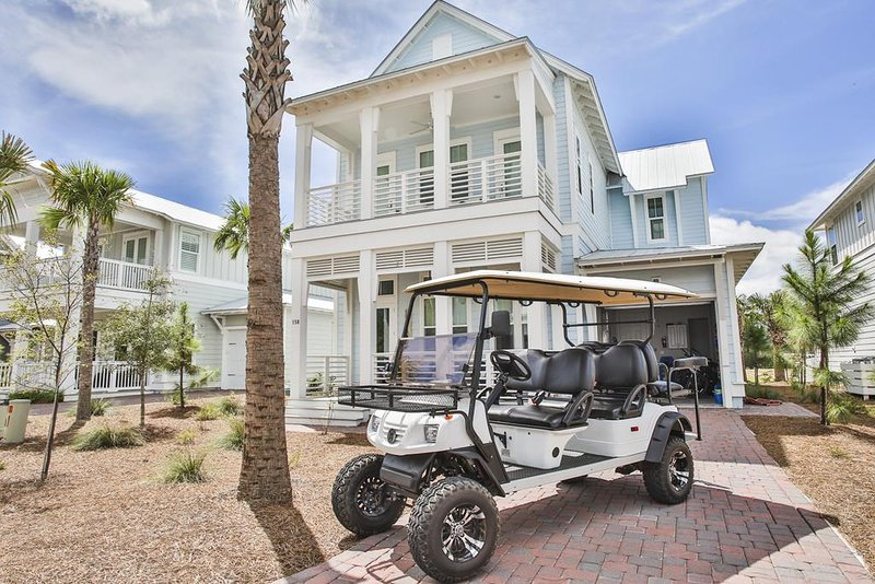 Prominence on 30A - Seaglass - Golf Cart Included!