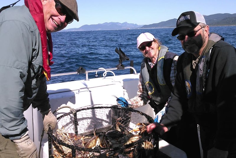 Or how about fresh Dungeness crab?! Boats to rent are available at the Oregon coast. Best crab ever!