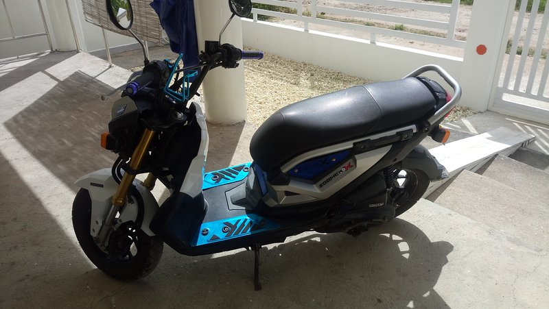 This Automatic Honda Zoomer X is for rent for our valuable guests at a special price of 300 peso/day
