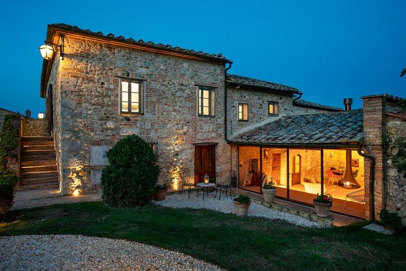 Villa Parmolaia, Ferienwohnung in Bagnaia
