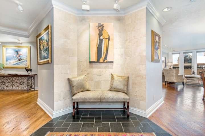 This grand entry welcomes you as you enter into your home away from home.