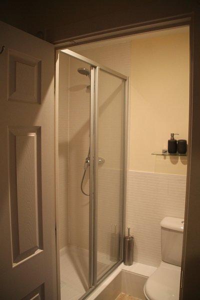 Der En-Suit im Master-Schlafzimmer mit Dusche