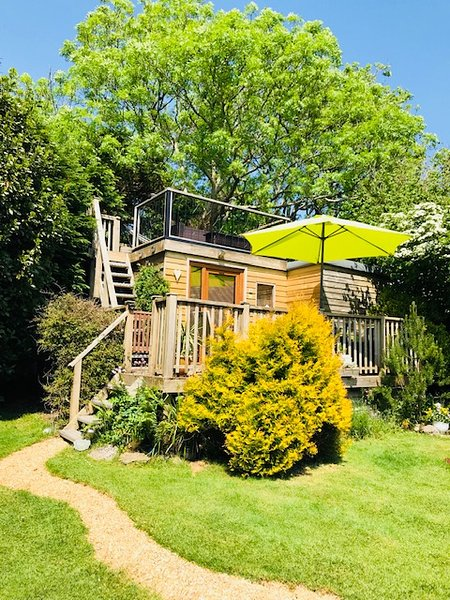 Twin Decks - top deck has panoramic country side and sea views. Bottom deck has sea view.
