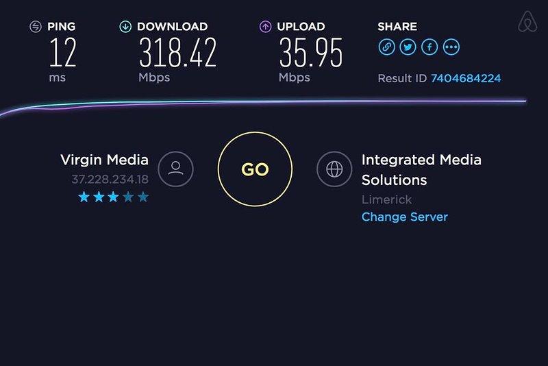 Wi-Fi speedtest