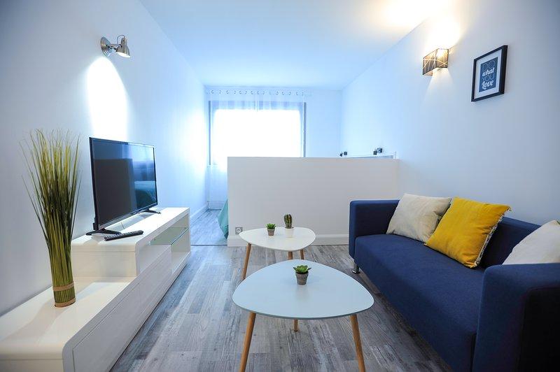 Appartement 35m2, 2 pièces centre de Bourg en Bresse, location de vacances à Saint-Paul-de-Varax