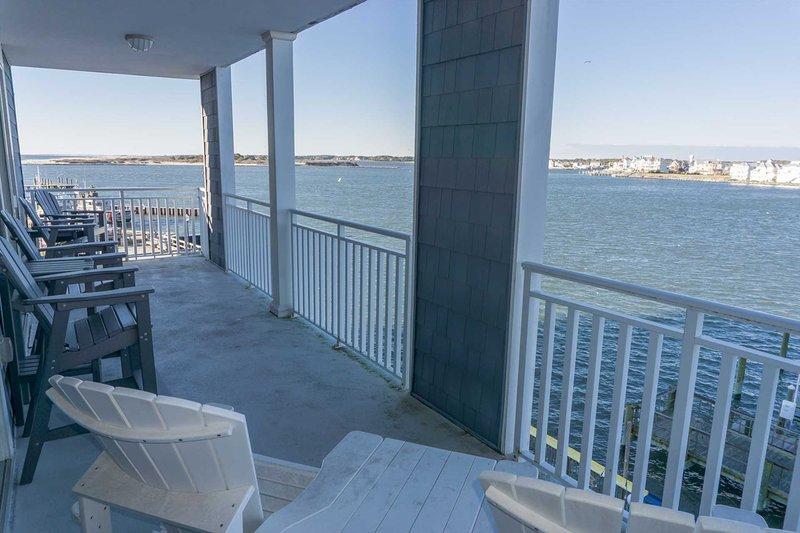 Las mejores vistas desde el balcón de la bahía y la isla de Assateague