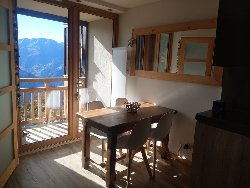 appartement 2 pieces plein sud- wifi, holiday rental in L'Alpe-d'Huez