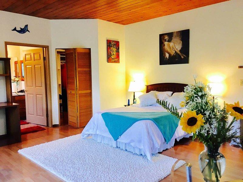 Spacious Private Room in Volcano, alquiler de vacaciones en Parque Nacional de los Volcanes de Hawaii