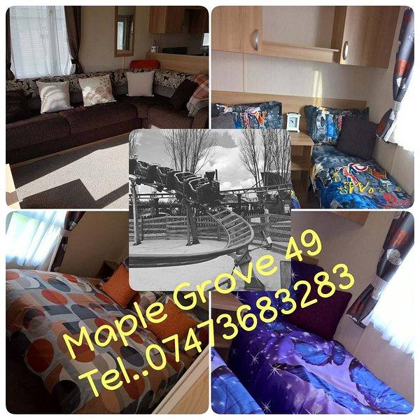 Flamingo land le Maple Grove Caravan Hire, holiday rental in Little Habton