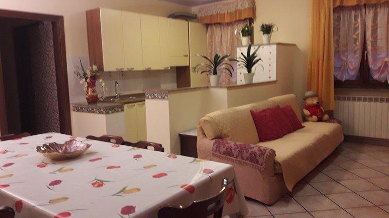 Appartamento zona collinare, holiday rental in Bagno di Gavorrano