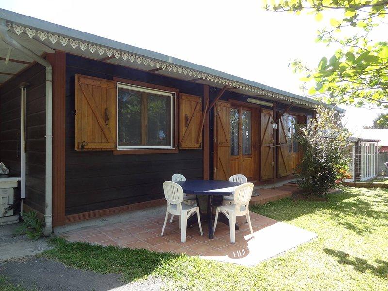 Chalet Combava, vacation rental in Sainte-Anne