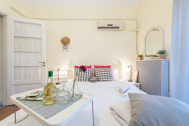 Lovely 1 bedroom apartment in Athens, holiday rental in Dafni