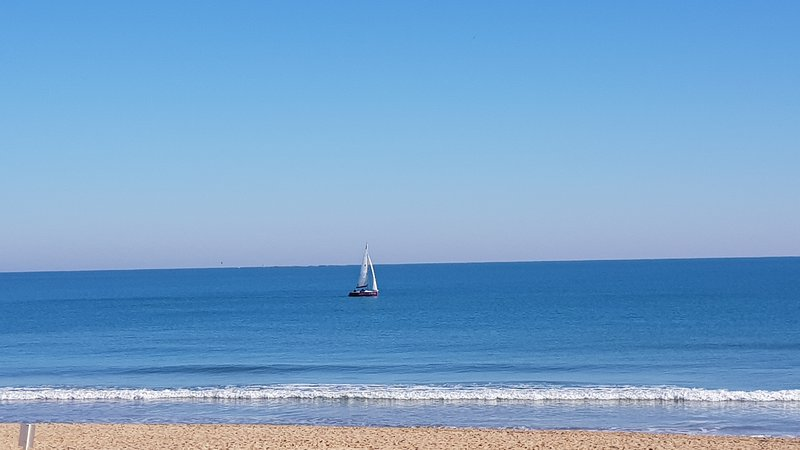 Nossa praia local em Guardamar, em janeiro!