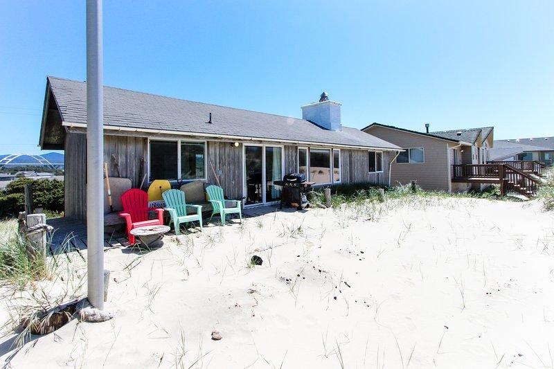 Dog-friendly oceanfront home near beach & trails! Enjoy shared pool