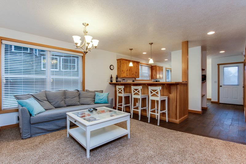 Cozy, dog-friendly home w/ beautiful ocean views - walk to the beach!, vacation rental in Pacific City