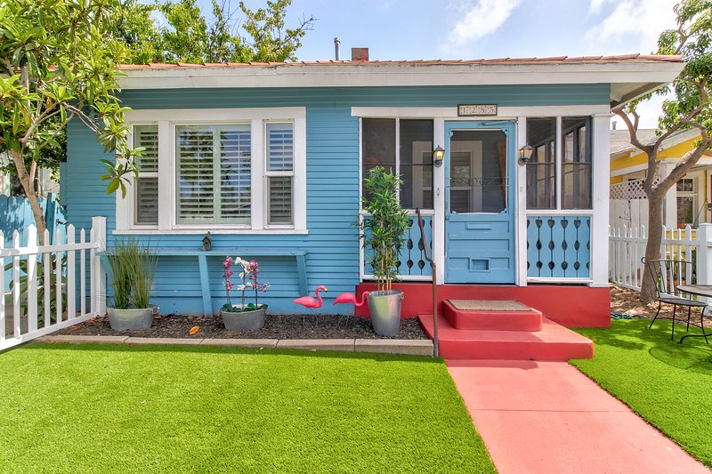 Charming, family-friendly cottage near Balboa Park, walk to downtown - dogs ok, vacation rental in San Diego