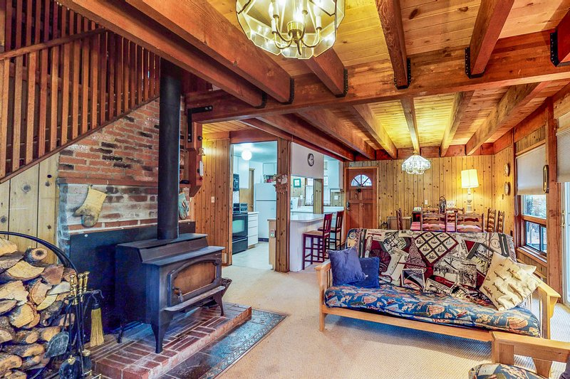 Cozy, family-friendly cabin near the slopes - enjoy spectacular starry skies!, holiday rental in Truckee
