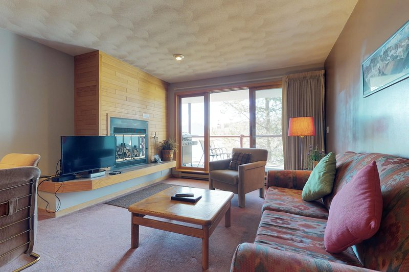 Cozy, waterfront condo w/ shared hot tub & sauna - moments from lake & skiing! Chalet in Arapahoe Basin
