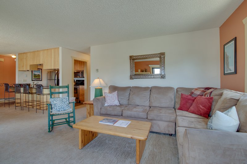 Mountain view condo - walk to Crested Butte Mtn Resort! Chalet in Crested Butte
