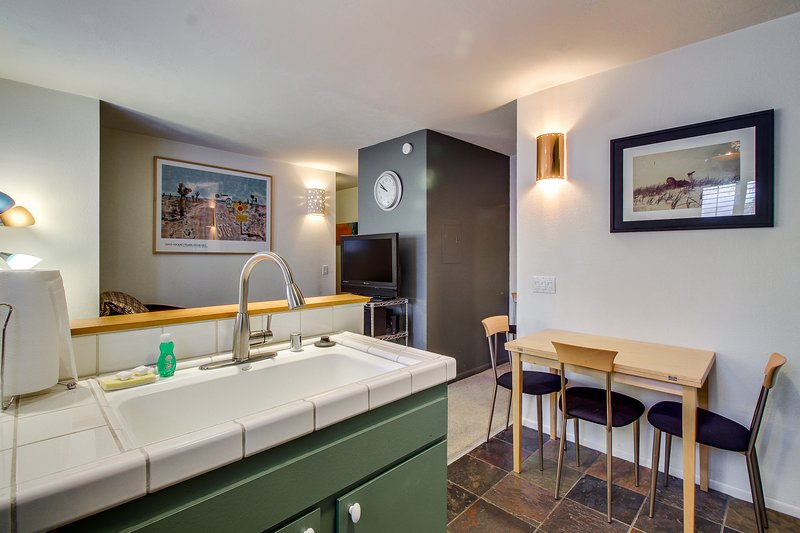 Photo of Cozy, colorful condo w/ shared pool & hot tub - two miles from Eagle Lodge