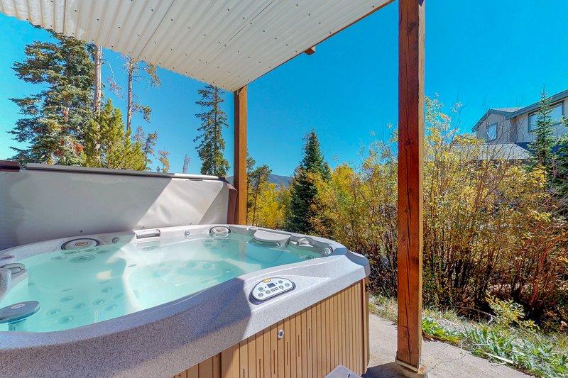 Townhome w/hot tub, deck & mountain/lake view - near 5 ski resorts, vacation rental in Wildernest