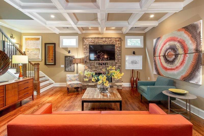 Super Bowl Home 10 Mins from Mercedes Benz Stadium, holiday rental in Atlanta