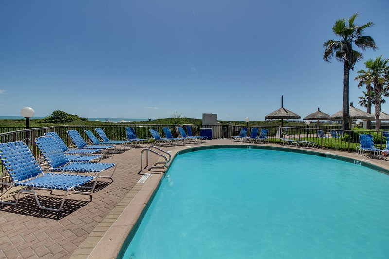Dog-friendly, oceanfront condo w/ shared pool & hot tub - near shopping, dining, vacation rental in Port Isabel