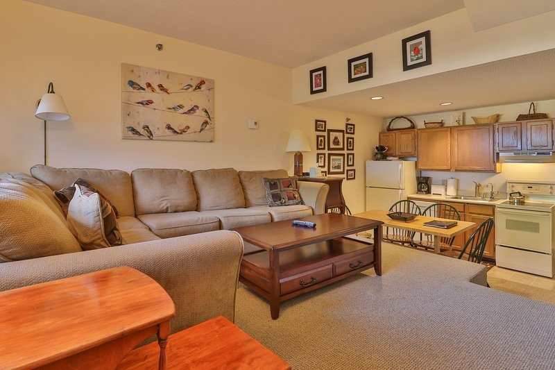 Cozy condo w/ ski-in/ski-out access to trails, heated pool, hot tub, & more!, vacation rental in Upton