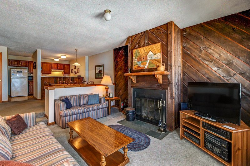 Ski-in/ski-out condo w/seasonal shared pool. Ideal for your next Vermont trip!, vacation rental in Mount Holly