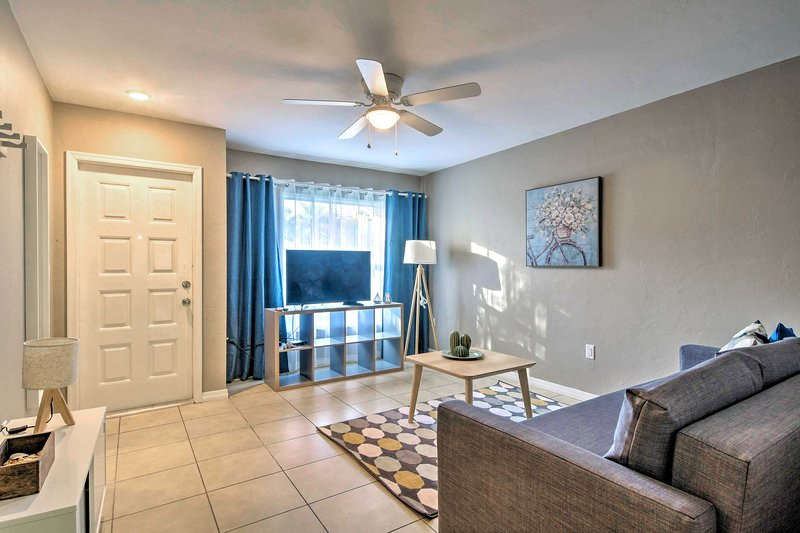 Make the most of your Sunshine State getaway at this 2-BR, 1-BA vacation rental.